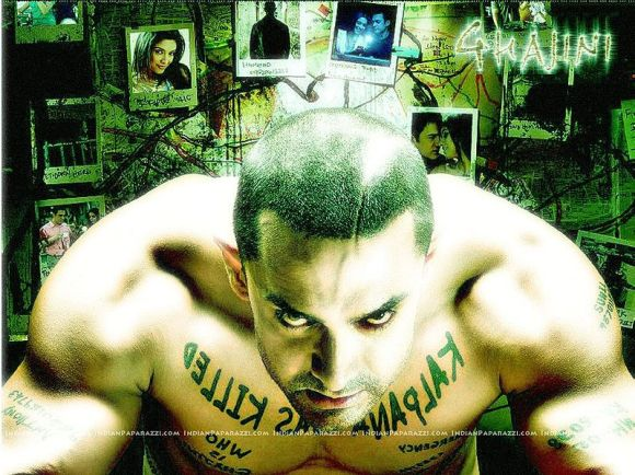 Amir Khan stars in the most awaited release of 2008 - ghajini