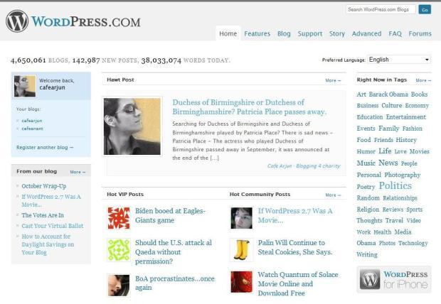 Hawt post on WordPress.com