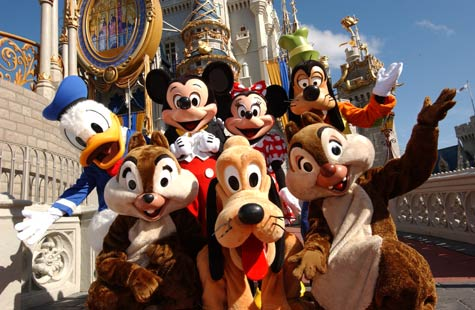 Walt Disney World - Most visited resort in the world - In Orlando, Florida.
