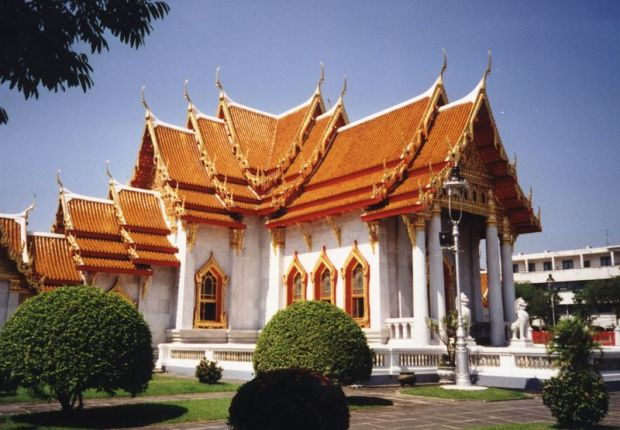 Sideview - Marble Temple, Bangkok, Thailand