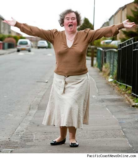 Some not so pretty exposure - Susan boyle