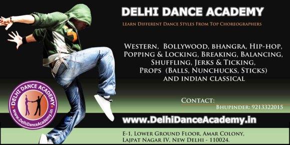 Dance classes Delhi