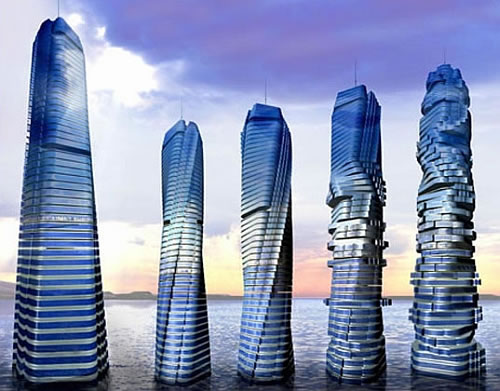 Rotating floors - Dubai holidays - Visit the world's firsts