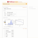 A search for Internet users Europe returns exact figure with breakups of countries on Wolfram Alpha