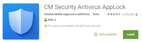 CM Security Antivirus AppLock Android Apps on Google Play