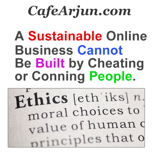 An Online Business Can Be Built Only With Ethics